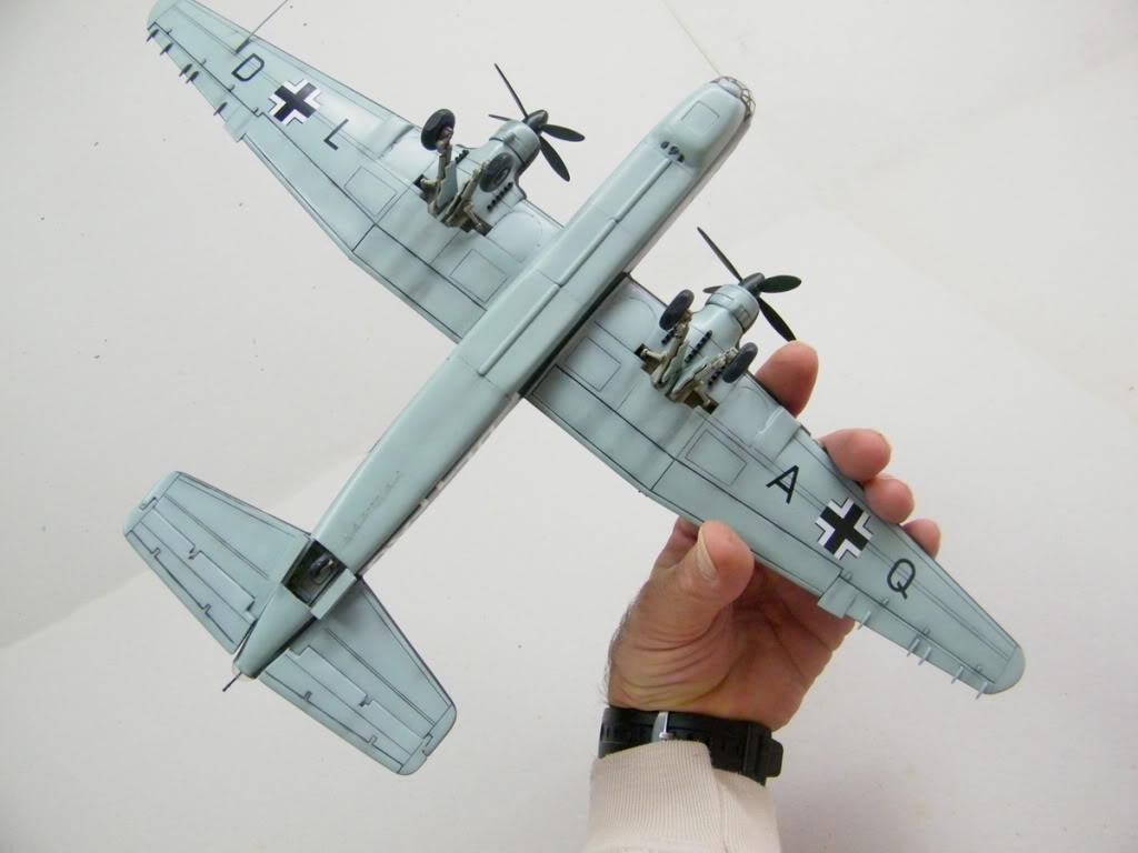 Heinkel He177 A-02 - Conversion from Venerable Airfix Kit F19