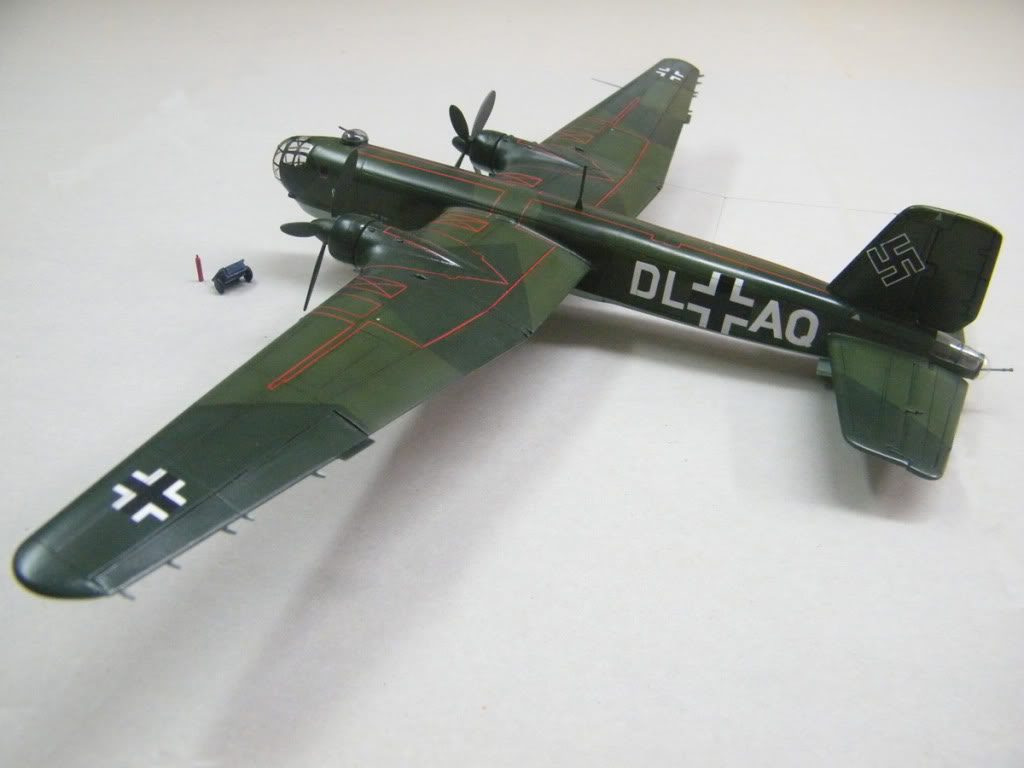 Heinkel He177 A-02 - Conversion from Venerable Airfix Kit F2
