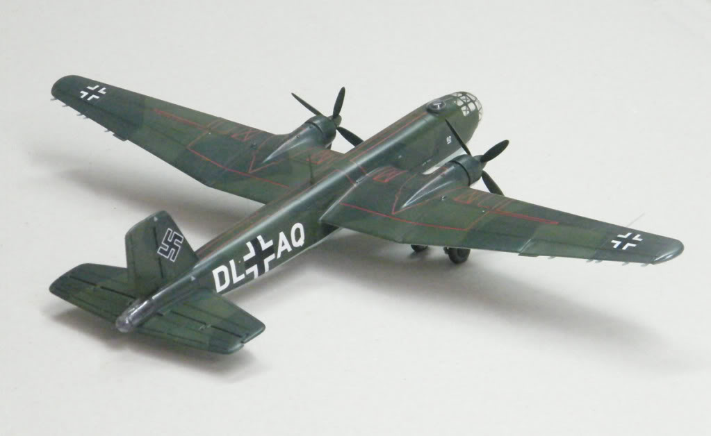 Heinkel He177 A-02 - Conversion from Venerable Airfix Kit F20s