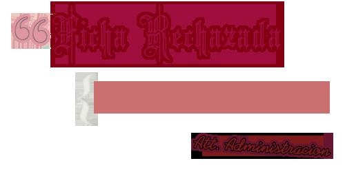 ficha de vamikiss Ficharechazada