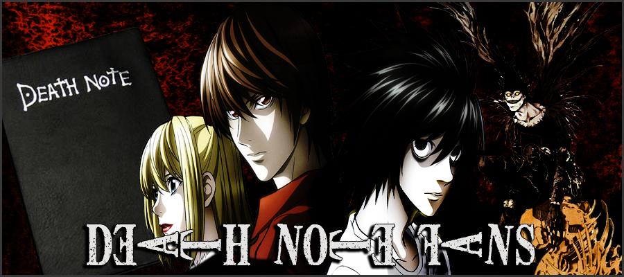 Anime: Death Note LogodeDeathNotefans