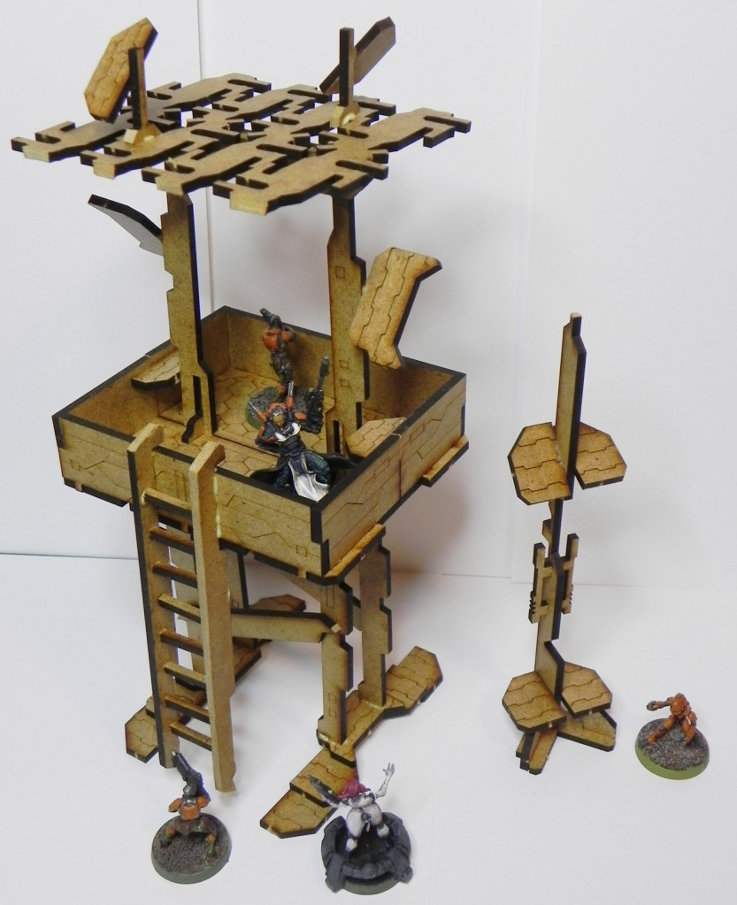 Scratch Build Infinity Watch-tower