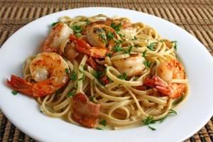 [Recipe] Shrimp & Red Pepper Pasta - Pasta tôm và ớt đỏ 300px-S_pasta