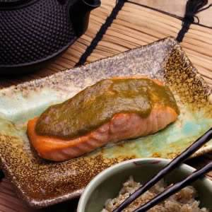 [Nhật Bản - Japan][Recipe] Midori Salmon - Cá hồi Midori RE_9754