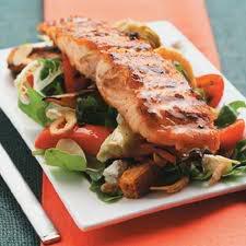 [Recipe] Salmon Salad - Sa lát cá hồi Images