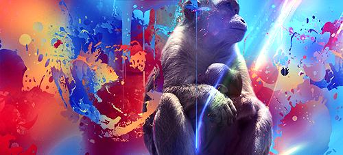 Dark World Monkey