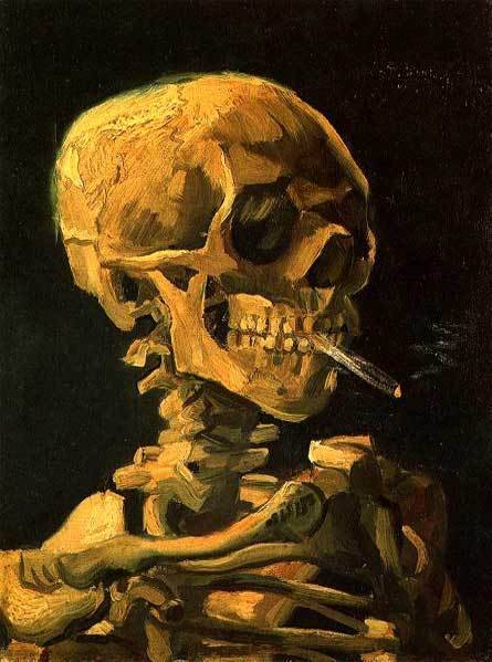 Vincent Van Gogh Van-gogh-skull