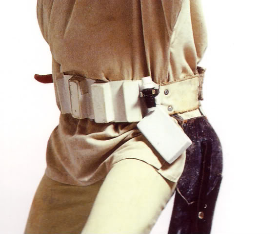 What to use to attach a comlink to the troopers belt? Lukebelt
