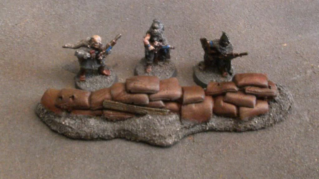 Project Log: 'The Nomad Legion', Necromundan IG army - Page 3 Sandbags-1