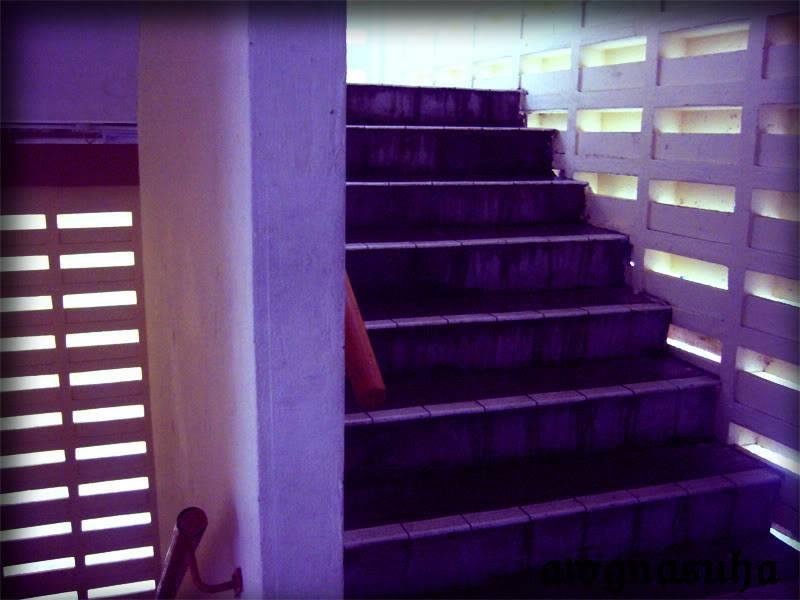 DISINILAH AKU DILAHIRKAN.. HUAHUAHUA Stairs