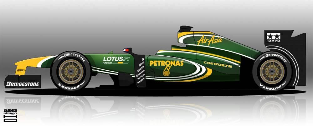 Formula 1 2010 Lotus2010specb
