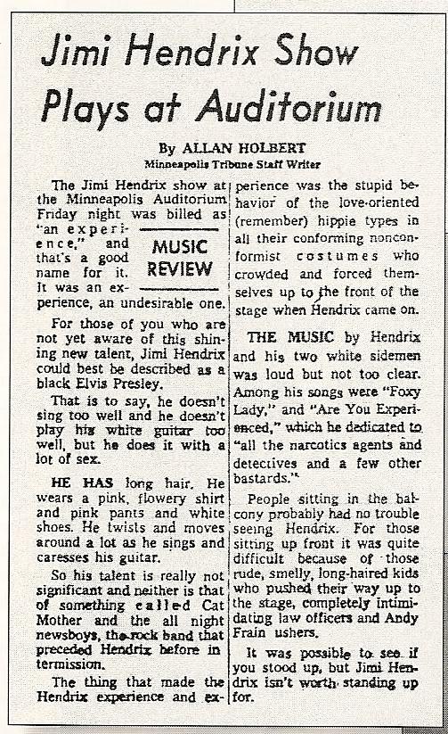 Minneapolis (Auditorium) : 2 novembre 1968 2