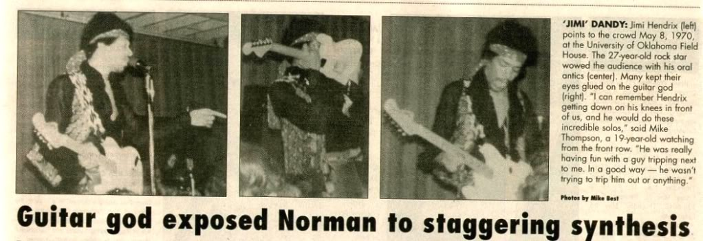 Norman (Field House, University Of Oklahoma) : 8 mai 1970 [Second concert]  Norman