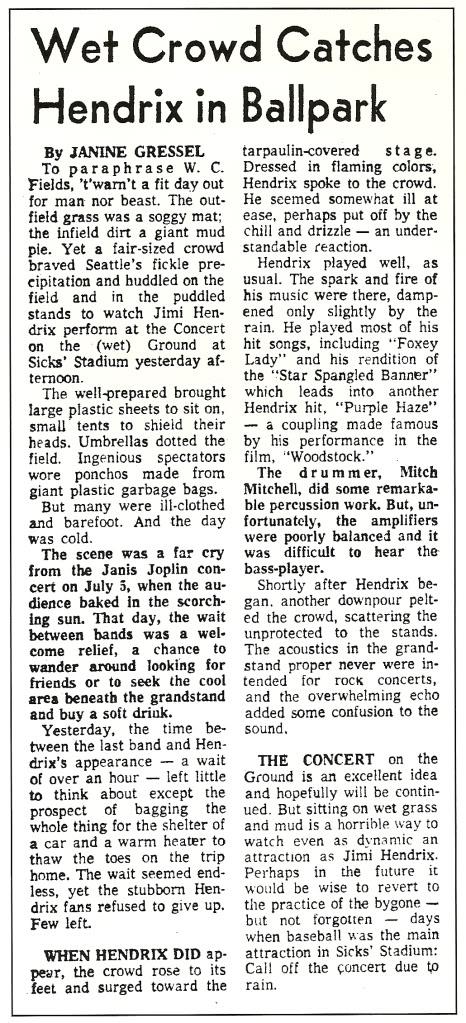 Seattle (Sicks Stadium) : 26 juillet 1970   Scan0007-2