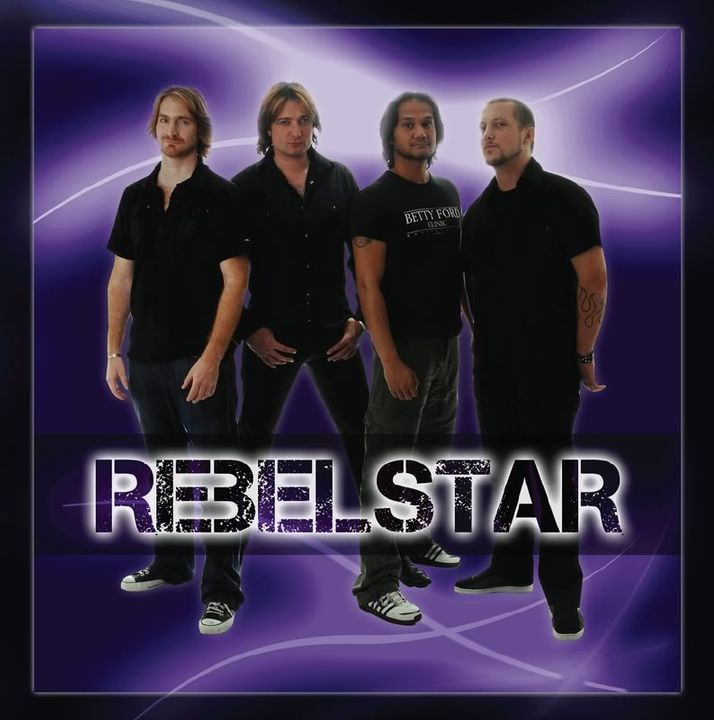Rebelstar: new band of Andre Borgman Rebelstarvoorkant