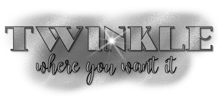 Click here for the Twinkle Where You Want It Tutorial