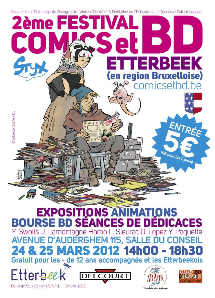 2 ème Festival Comics et BD d'Etterbeek (24 et 25 mars 2012). BRUXELLES_CARTEL2012_REVISI1