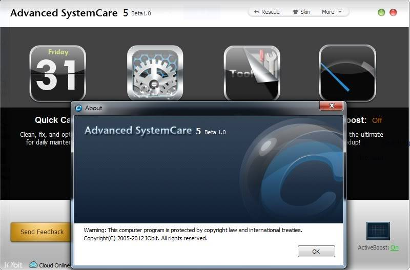 IObit Advanced System Care 5 Beta 1.0 - Hàng mới ra lò đây !!! - Cực kì hay !!! IObit4