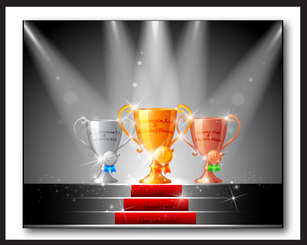 The Drunk Tank Trophy Winners - February, 2015  The%20Drunk%20Tank%20Trophy%20Winners%20February%202015