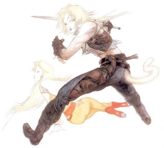 Final Fantasy Series Thread Amano2zidanegarnet-1