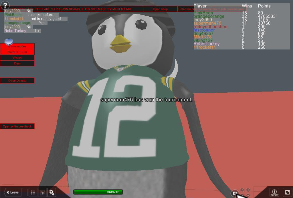 A few ROBLOX pics for Blue with penguins, a hideous monster that Stein WILL remember and Steampunk Man RobloxScreenShot03052011_080859757