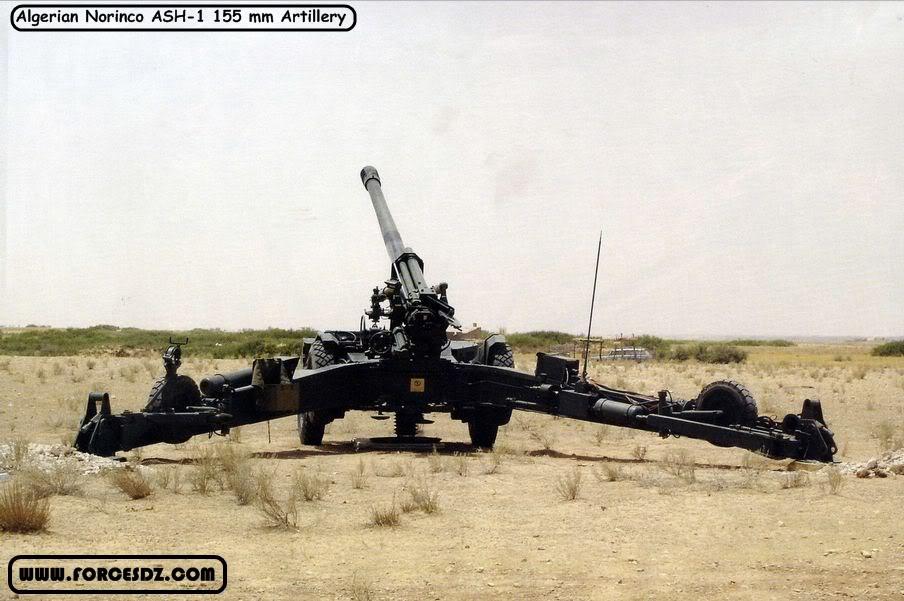 القوات البرية الجزائرية  1