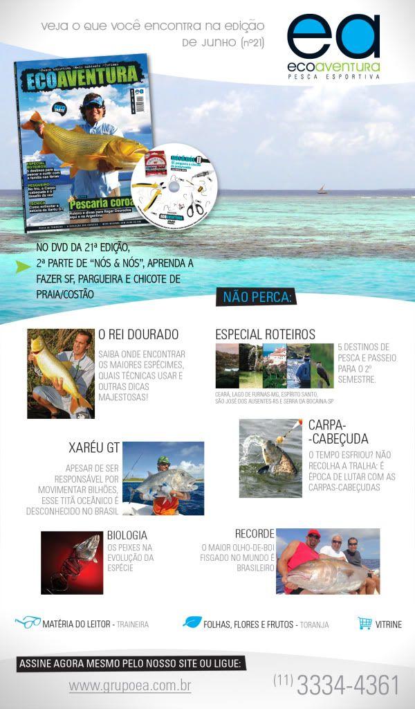 Dourado, pescaria coroada - ECOAVENTURA ed.21 News_Revista-NAO-ASSINANTE-21