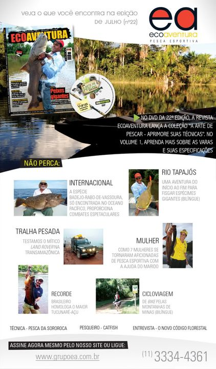 Revista ECOAVENTURA com muitas novidades! News_Revista_22_naoassinante