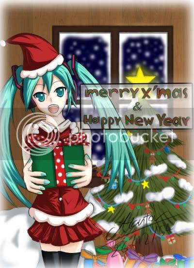 ห้องรวบรวมผลงาน Akantor~ >w< (updateหลังหายไปนาน 12/08/55) - Page 2 FA-miku-for-christmas
