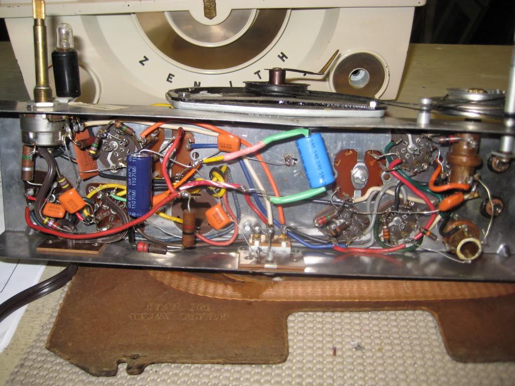 Zenith J615 - Poor reception; Distorted sound ZenithJ615ii