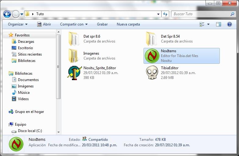 Como agregar Sprites de Items a 8.54 27ccbf1b