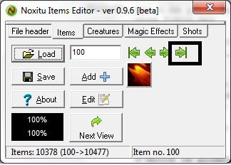 Como agregar Sprites de Items a 8.54 4-1