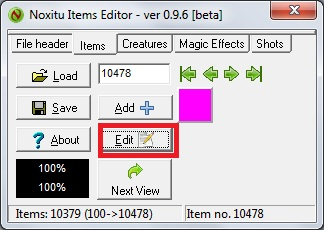 Como agregar Sprites de Items a 8.54 6-1