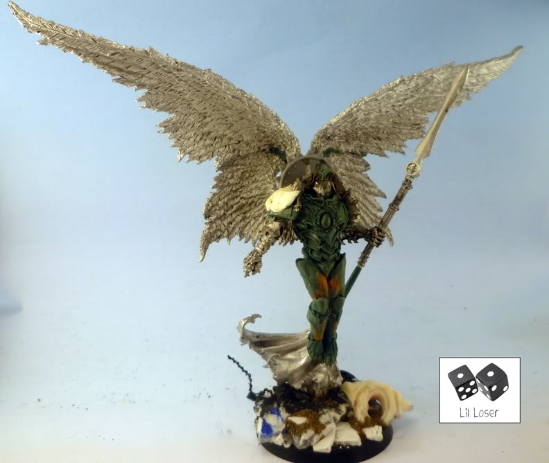 [Commission] Sanguinius, Primarch of the Blood Angels P1000914