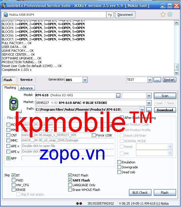 Mở mã bảo vệ,flash các máy nokia đời mới by usb Mxkey Mabvx2-00