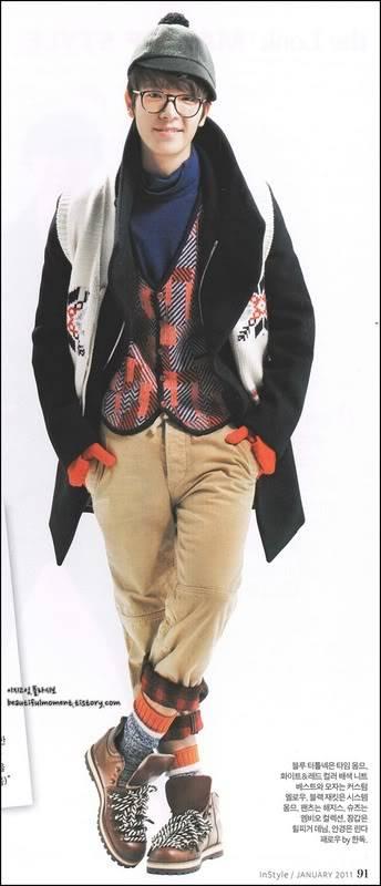 """[09032011][News] Phỏng vấn trên tạp chí """"In Style"""" số tháng 1: Người đàn ông phong cách - Lee Dong Hae 51666637"""