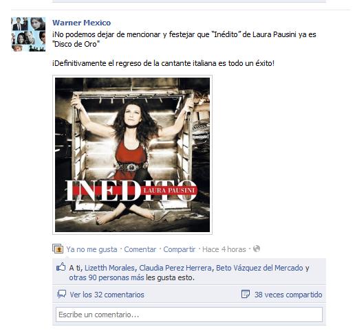 """Charts /Ventas album """"Inedito"""" (#1 ITA; #2 SUI; #3 ARG; #4 ES) Aaaa-24"""
