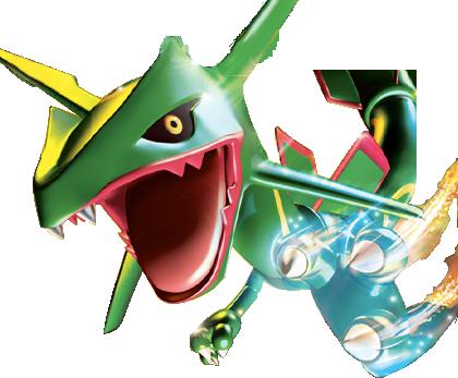 Pokemon EX Card Cuts RayquazaEXRender-1