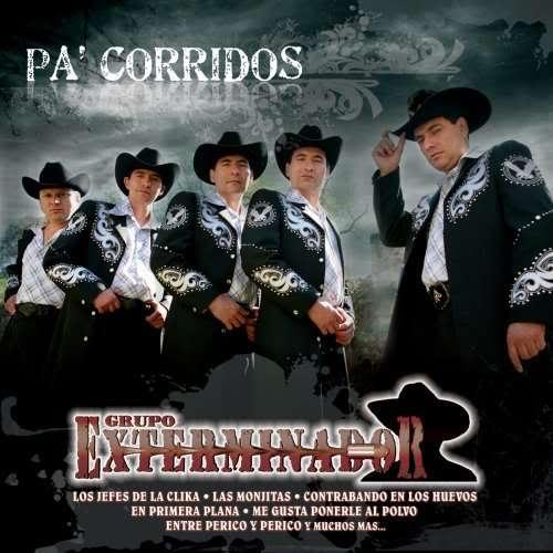 Grupo Exterminador - Pa' Corridos Exterminador [2009] GrupoExterminador-PaCorridosExterminador2009-1