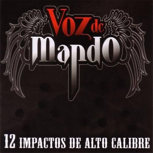 Voz de Mando - 12 Impactos de Alto Calibre [2009] VozdeMando-12ImpactosdeAltoCalibre2009front