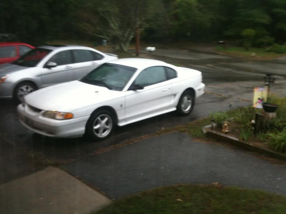 94 Mustang 3.8 Carbeforespoiler