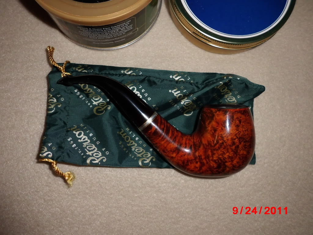 Just got my first pipe in the mail today! CIMG0010
