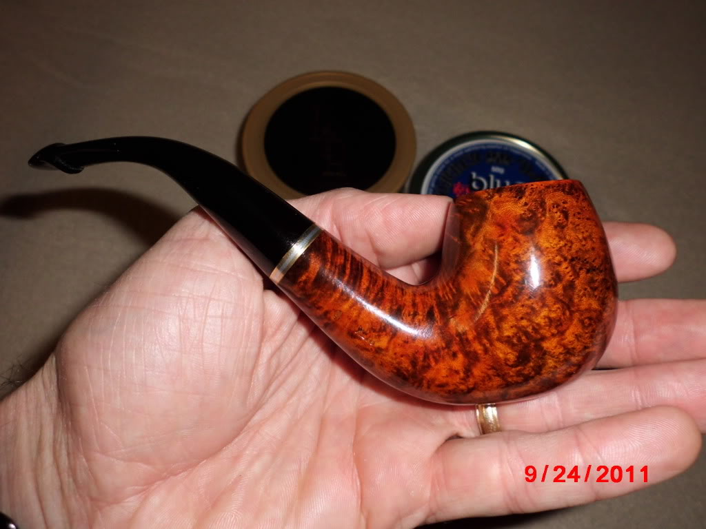 Just got my first pipe in the mail today! CIMG0012