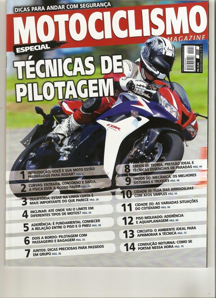 Pilotagem Ed especial Motociclismo, toda matéria. Digitalizar0001-1
