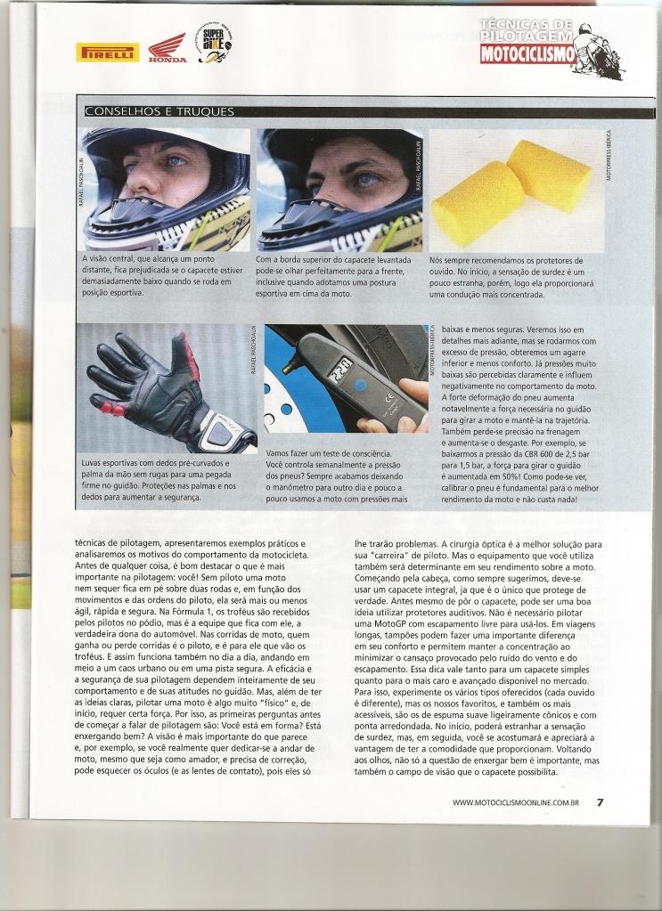 Pilotagem Ed especial Motociclismo, toda matéria. Digitalizar0002-1