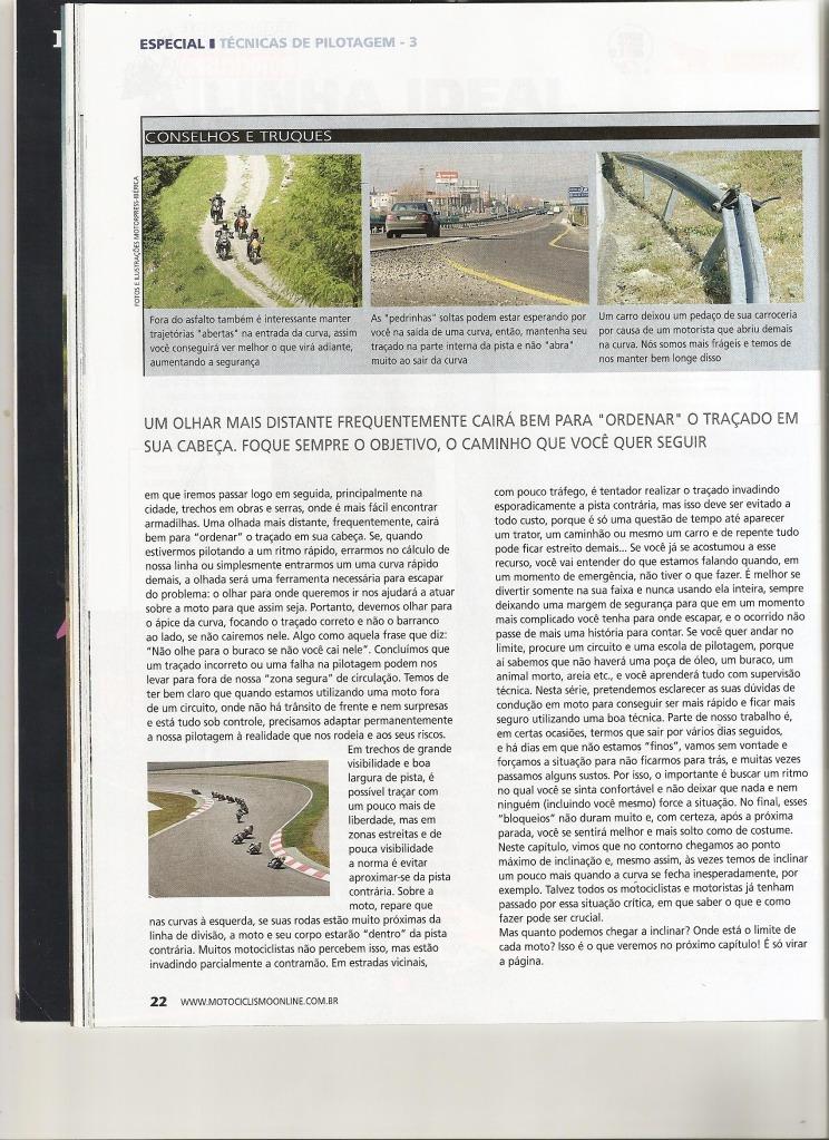 Pilotagem Ed especial Motociclismo, toda matéria. Digitalizar0003-1
