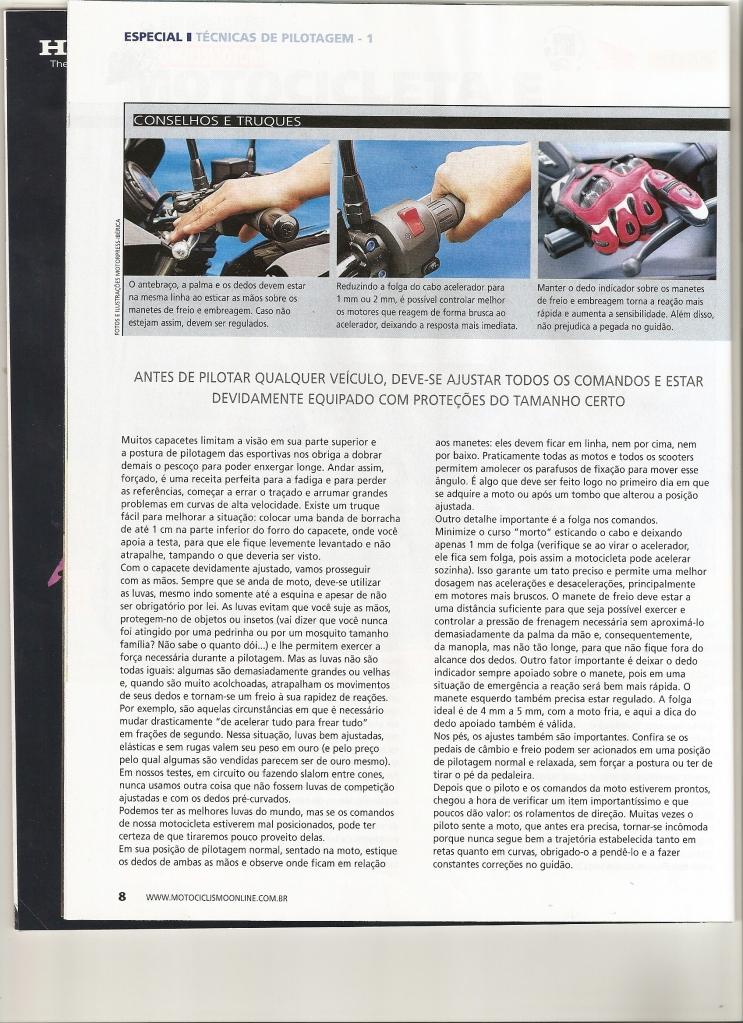 Pilotagem Ed especial Motociclismo, toda matéria. Digitalizar0003