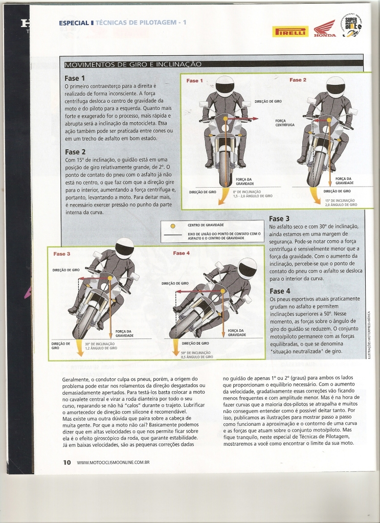 Pilotagem Ed especial Motociclismo, toda matéria. Digitalizar0005