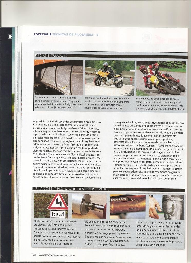 Pilotagem Ed especial Motociclismo, toda matéria. Digitalizar0007