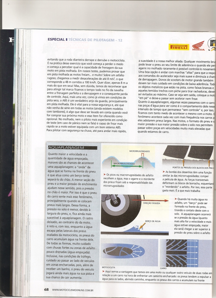 Pilotagem Ed especial Motociclismo, toda matéria. Digitalizar0011